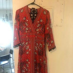 Sandro midi dress